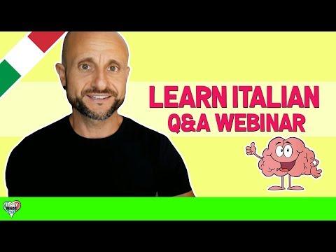 Speak Italian From Day 1 - Q&A Webinar - Week 1