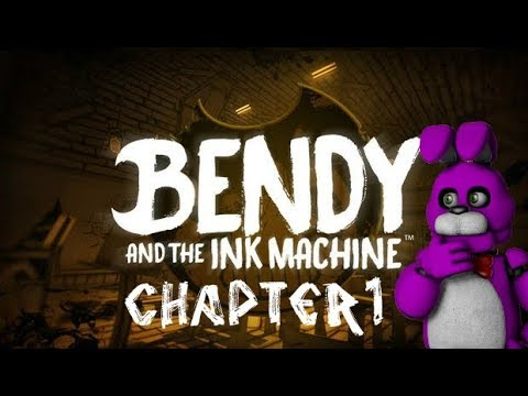 Bendy and the Ink Machine | Kenai speriat de cerneală [Ep.1]