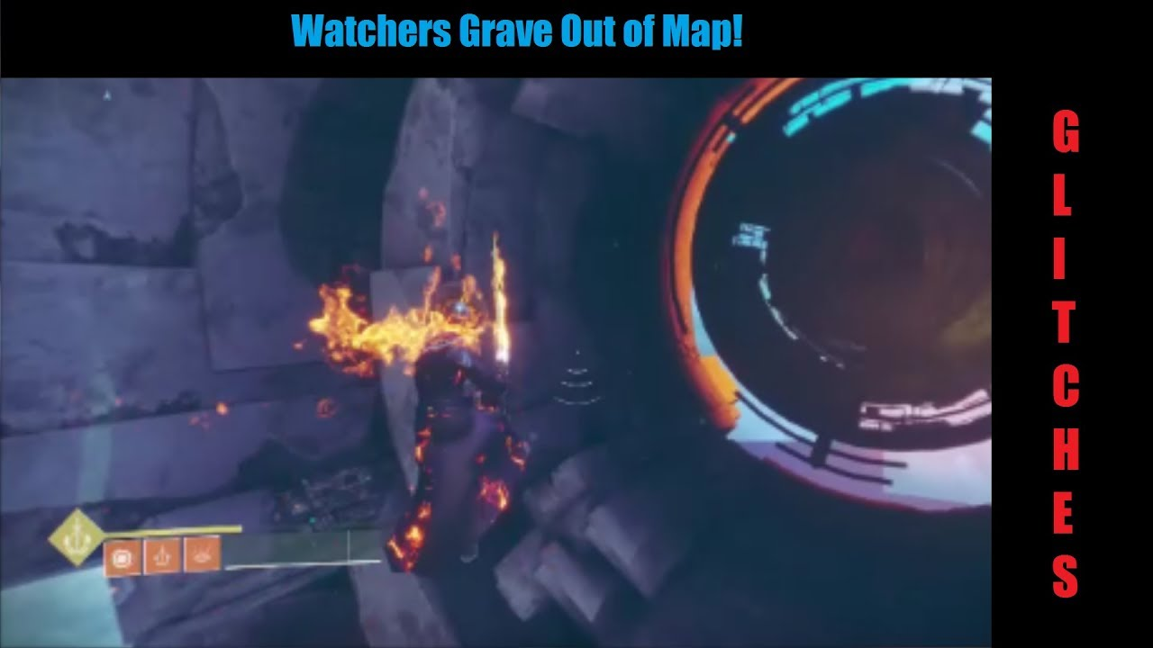 destiny 2 watchers grave out of map youtube