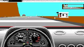 Test Drive 2 - The Duel (DOS) - Gameplay