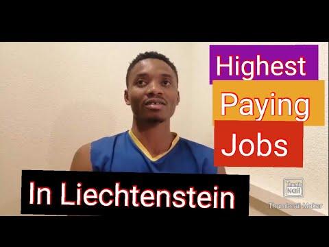 Highest paying jobs in Liechtenstein | the jobs market in principality of Liechtenstein /