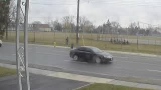 Impatient Driver Causes Car Crash