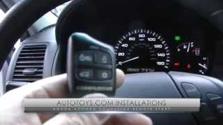 HONDA ACCORD REMOTE START 4 BUTTON INSTALLATION (AUTOTOYS.COM)