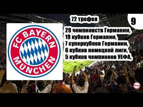 Кто самый титулованный клуб Европы? У самого успешного более 100 кубков.