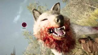 FarCry Primal Snow Blood Wolf