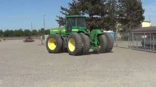 2015 September Public Auction Lot 504:  2001 John Deere 9200 Wheel Tractor