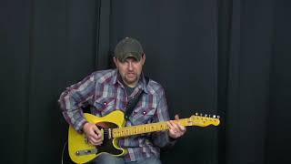 Old Country Guitar Solo | 48 Simply Fantastic Country Guitar Licks