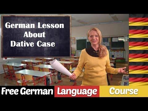 German Grammar - Dative Case - Speaking Practice - A81