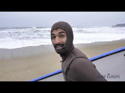 Skunkworks 7' Surfboard vs Biarritz Winter Swells