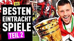Eintracht Frankfurt - TOP 4 legendärste Spiele (Teil 2) | FUSSBALL 2000 - Eintracht-Videopodcast