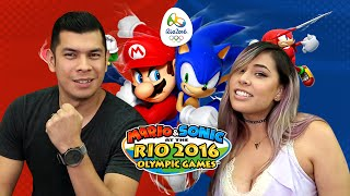 WHO'S THE BEST OLYMPIC PLAYER?! Husband vs Wife - Mario & Sonic Rio Olympics 2016