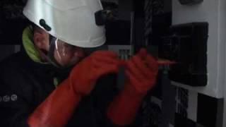 ERDF-GrDF, UCF Paris. Une journée avec un technicien clientèle raccordement élec