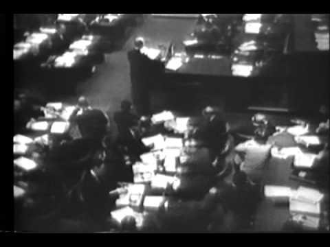 Nazis Face War Crime Evidence - German War Plant Razed   Newsreel