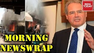Morning Newswrap : Pak Mob Targets Hindu Schools & Temples | UK MP - J&K Part Of India