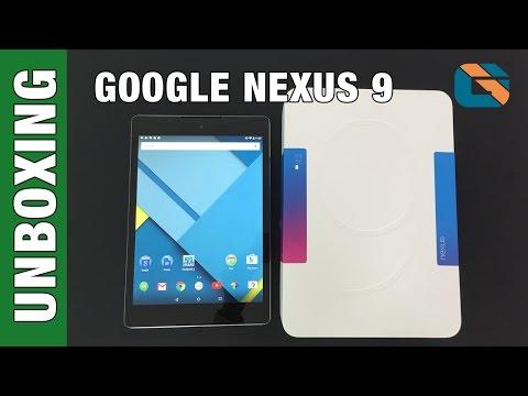 Google Nexus 9 Unboxing & First Impressions - Multicam