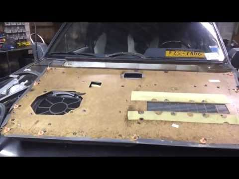 Door Panel Break Down For Upholstery - WD21 Nissan Pathfinder