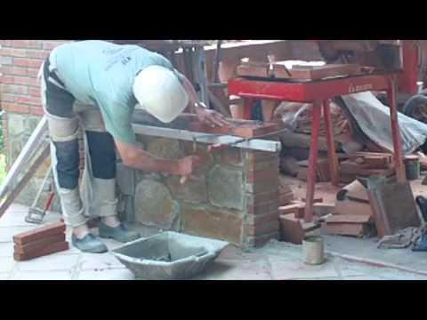 C mo construir dos poyetes con piedra v deo n 84 - Como hacer jardineras de piedra ...