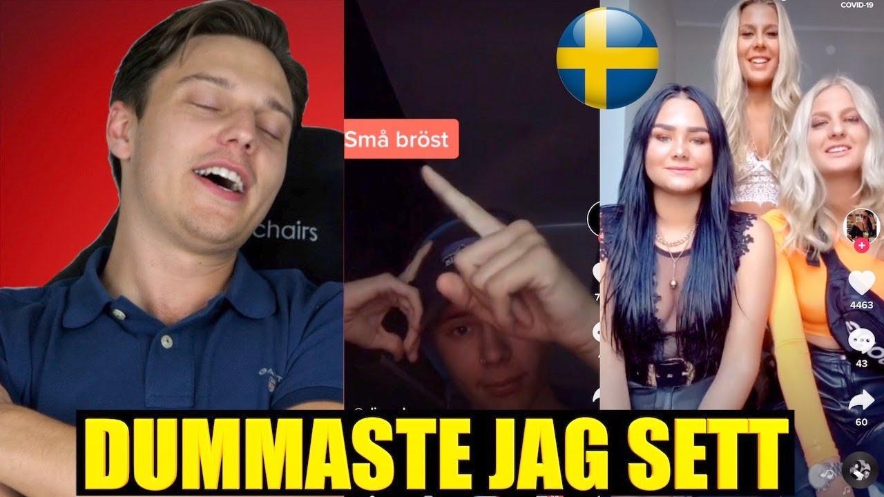 REAGERAR PÅ SVENSKA TIK TOK! 🇸🇪 | Vad gör dagens ungdomar?!