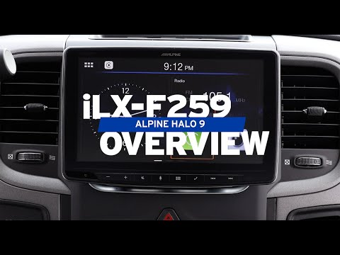 Alpine | iLX-F259 Halo9 9-inch Receiver Overview