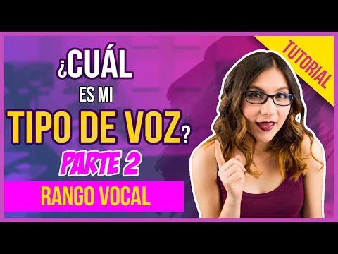 CUÁL ES MI TIPO DE VOZ 2 - Rango Vocal - Clases de Canto - Gret Rocha