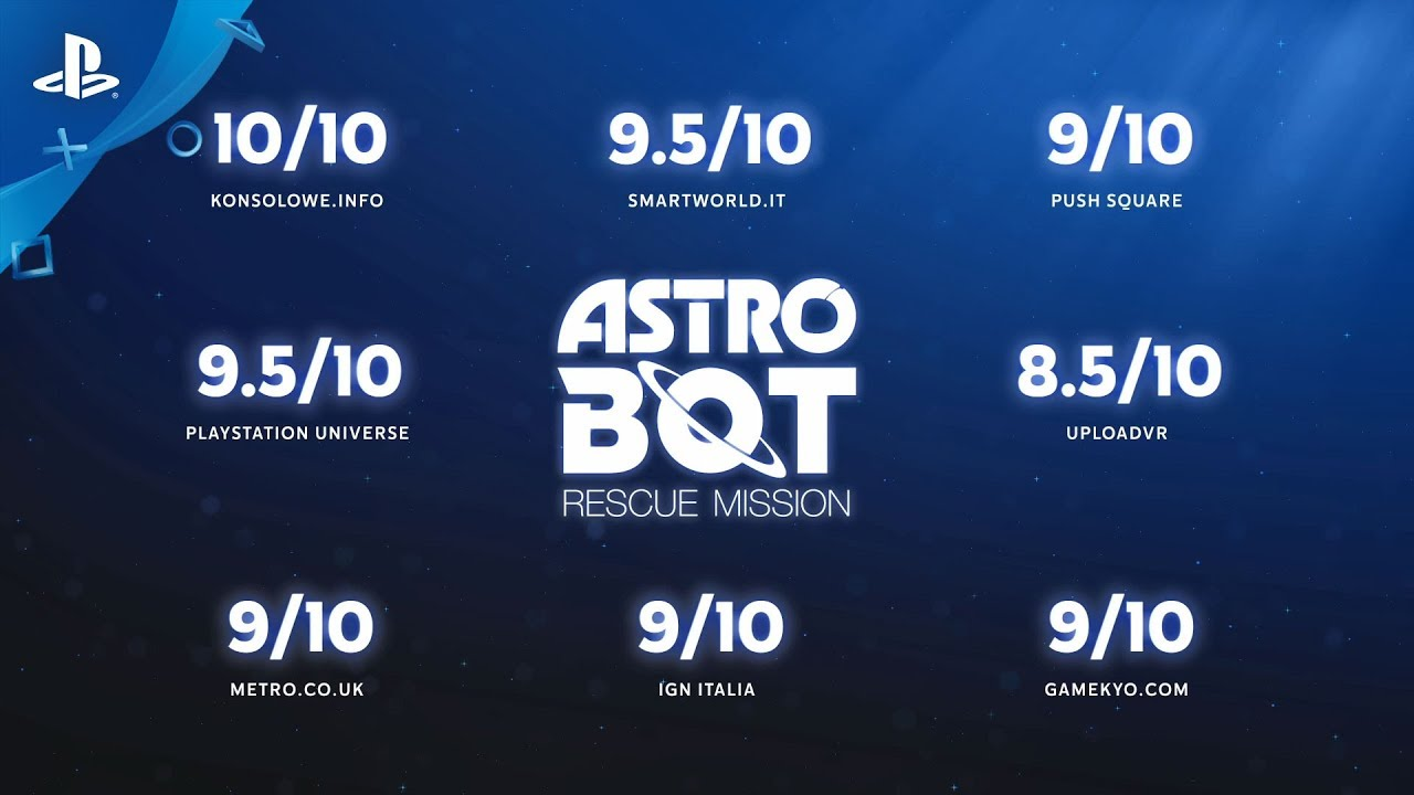 『ASTRO BOT:RESCUE MISSION』絶賛の声トレーラー