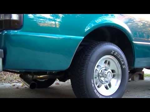 '97 Ford Ranger 2.3: Stock vs Open Exhaust