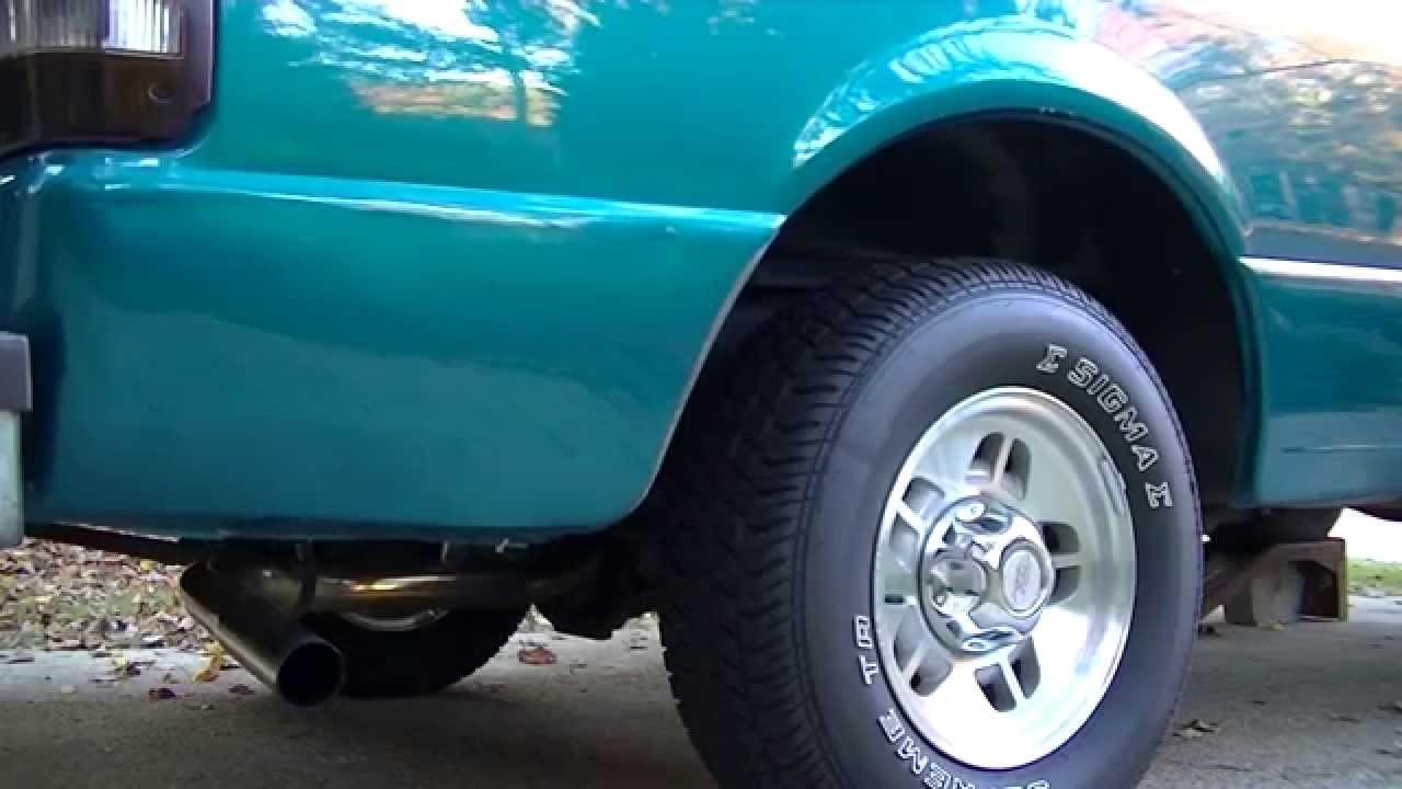U0026 39 97 Ford Ranger 2 3  Stock Vs Open Exhaust