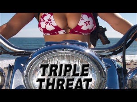 Triple Threat (Action Movie, English, Full Length) Adventure, Crime Feature Film for Free