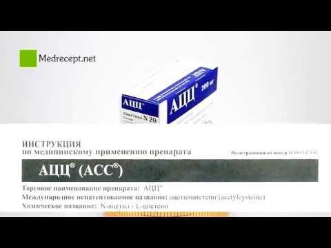 АЦЦ® (ACC®) - инструкция по применению, состав, аналоги