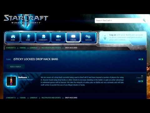 Starcraft 2 Drop Hack Bans - BLIZZARD BANHAMMER! DO NOT CHEAT! - SC2 News Vlog