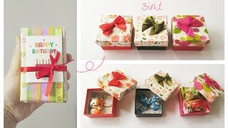 Birthday Gift Ideas For Friend | cute, easy | 3 in 1