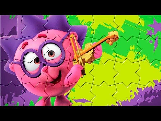 ????? ???? ?????????. Super puzzle  Smeshariki