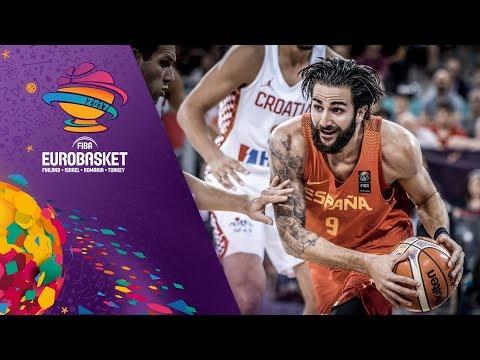Croatia v Spain - Highlights - FIBA EuroBasket 2017