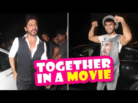 Shahrukh Khan And Ranveer Together For A Film   Shimit Amin   Latest Bollywood Movies News 2016