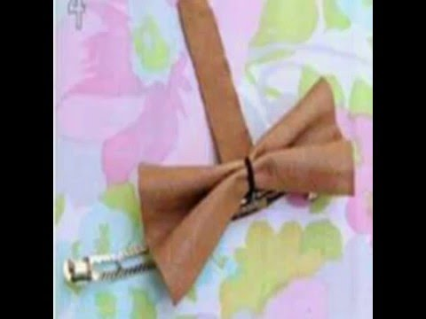 DIY Make Your Own Bow Tie