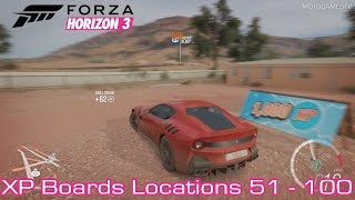 Forza Horizon 3 [PC/Xbox One] - XP Boards Locations Guide [51-100]
