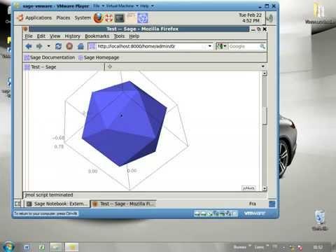 تعلم العمل ببرنامج sage math mathematics software