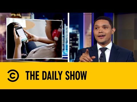 Law Made To Fight Social Media Addiction | The Daily Show with Trevor Noah