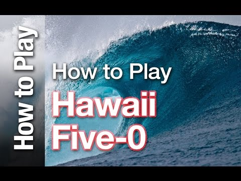 """How to Play the theme from"""" Hawaii Five-O"""" (Original Ventures version)"""