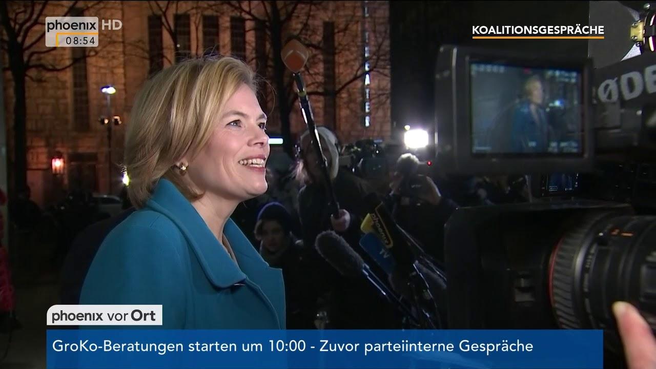 statement von julia klckner zum stand der koalitionsgesprche am 050218 - Julia Klockner Lebenslauf