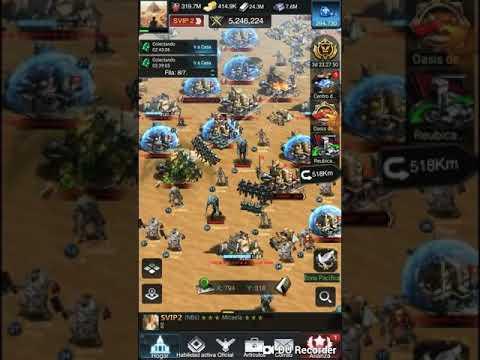 Last Empire War Z Oasis, Estados 250/233/468/384