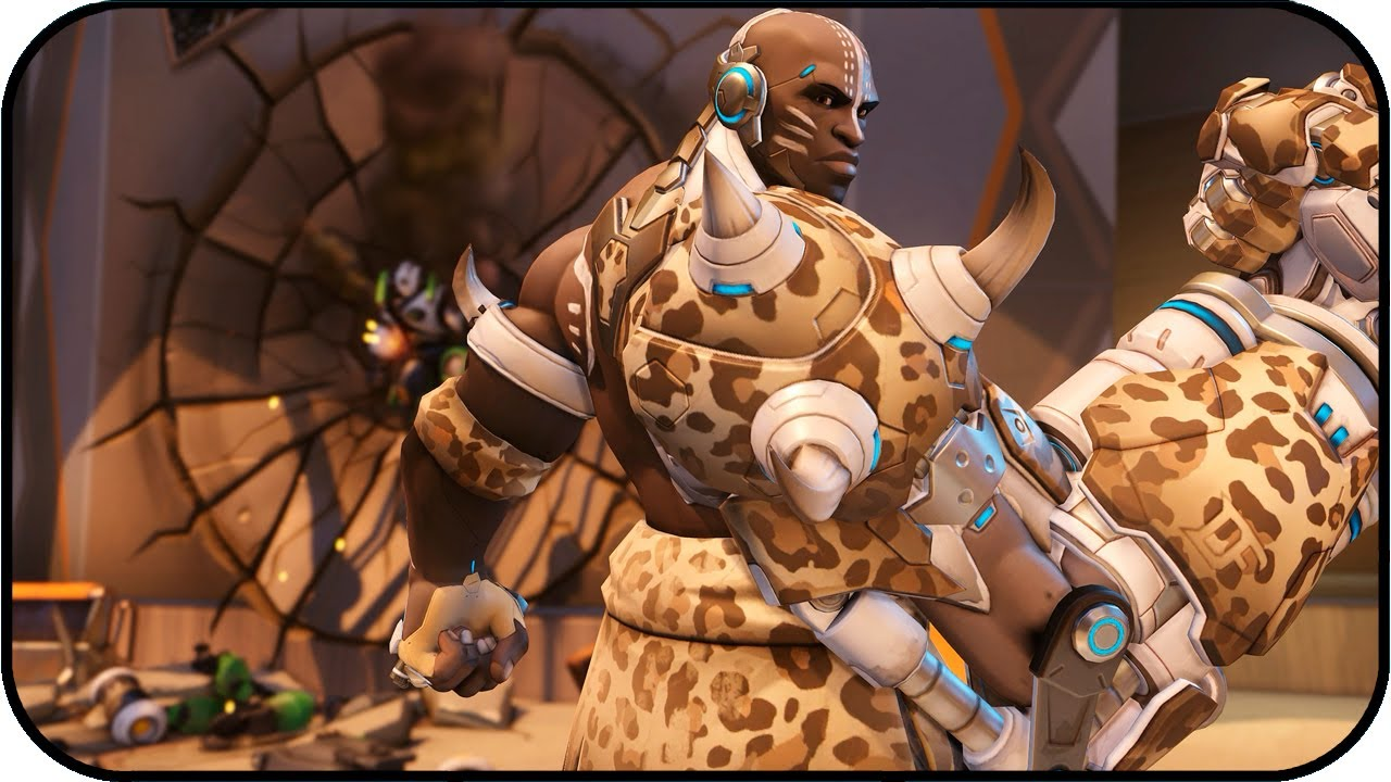 Animated Cheetah Wallpaper 🎮 overwatch - doomfist cheetah - animated wallpaper 4k 60fps 🎮