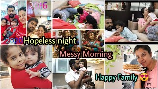 #VLOG HOPELESS NIGHT | MESSY MORNING | HAPPY FAMILY | GIVEAWAY WINNERS | MADHUSHIKA VLOGS