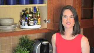 Innovative twist on the lazy Susan!  | Solutions.com