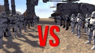 СРАЖЕНИЕ ВСЕХ ЭПОХ STAR WARS!   Men Of War Star Wars   ЗАРИСОВКИ #35