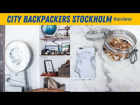 EP #69 | City Backpackers Best Hostel in Stockholm!! // UK to Sweden