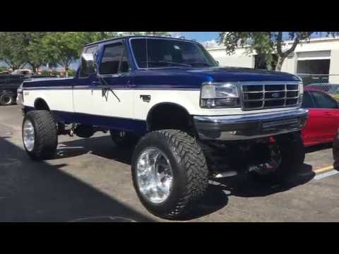 1994 Ford F250 4x4 7.3 Diesel: Looking Really Nice, 40 inch tires