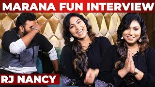 """I taught TAMIL  to Sachin Tendulkar ""- RJ Nancy Reveals Unknown Radio Jockey Stories!"