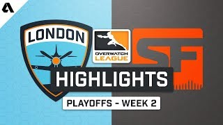 London Spitfire vs SF Shock | Playoffs Week 2 | Day 3 - Overwatch League S2 Highlights
