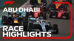 2019 Abu Dhabi Grand Prix: Race Highlights